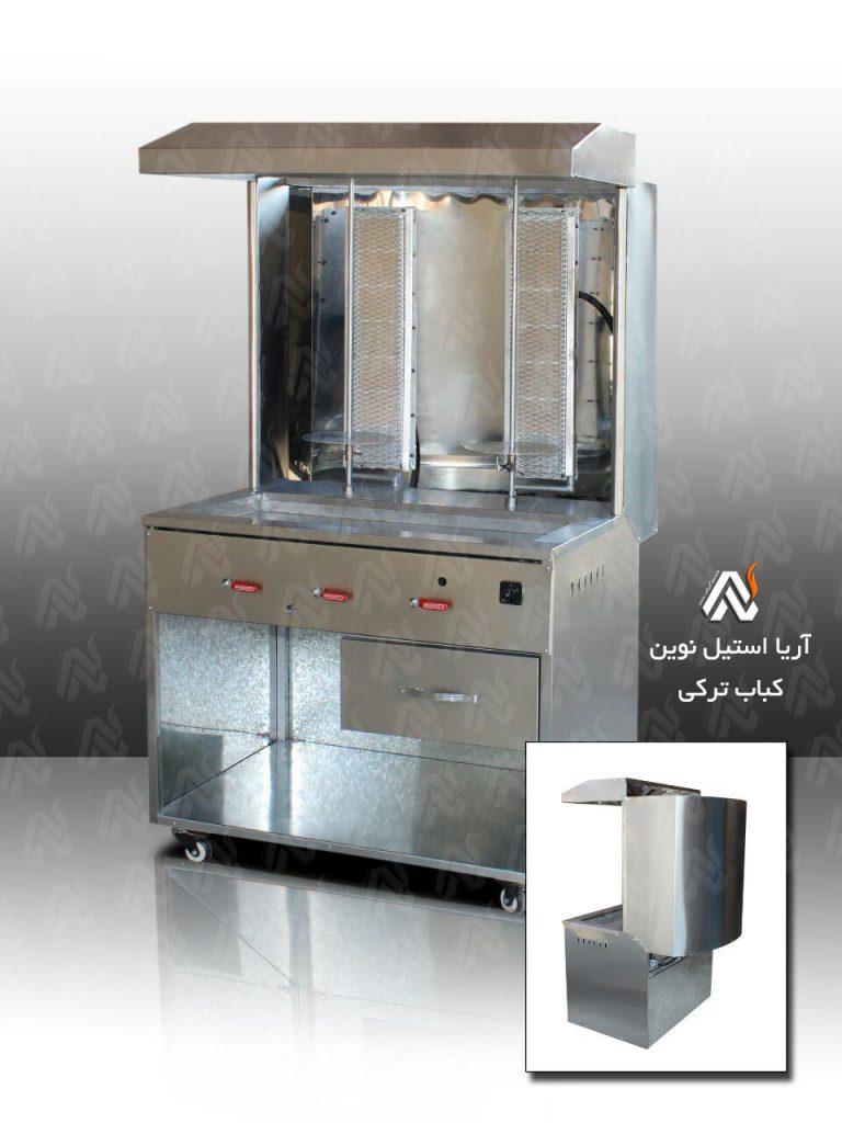انواع دستگاه کباب ترکی