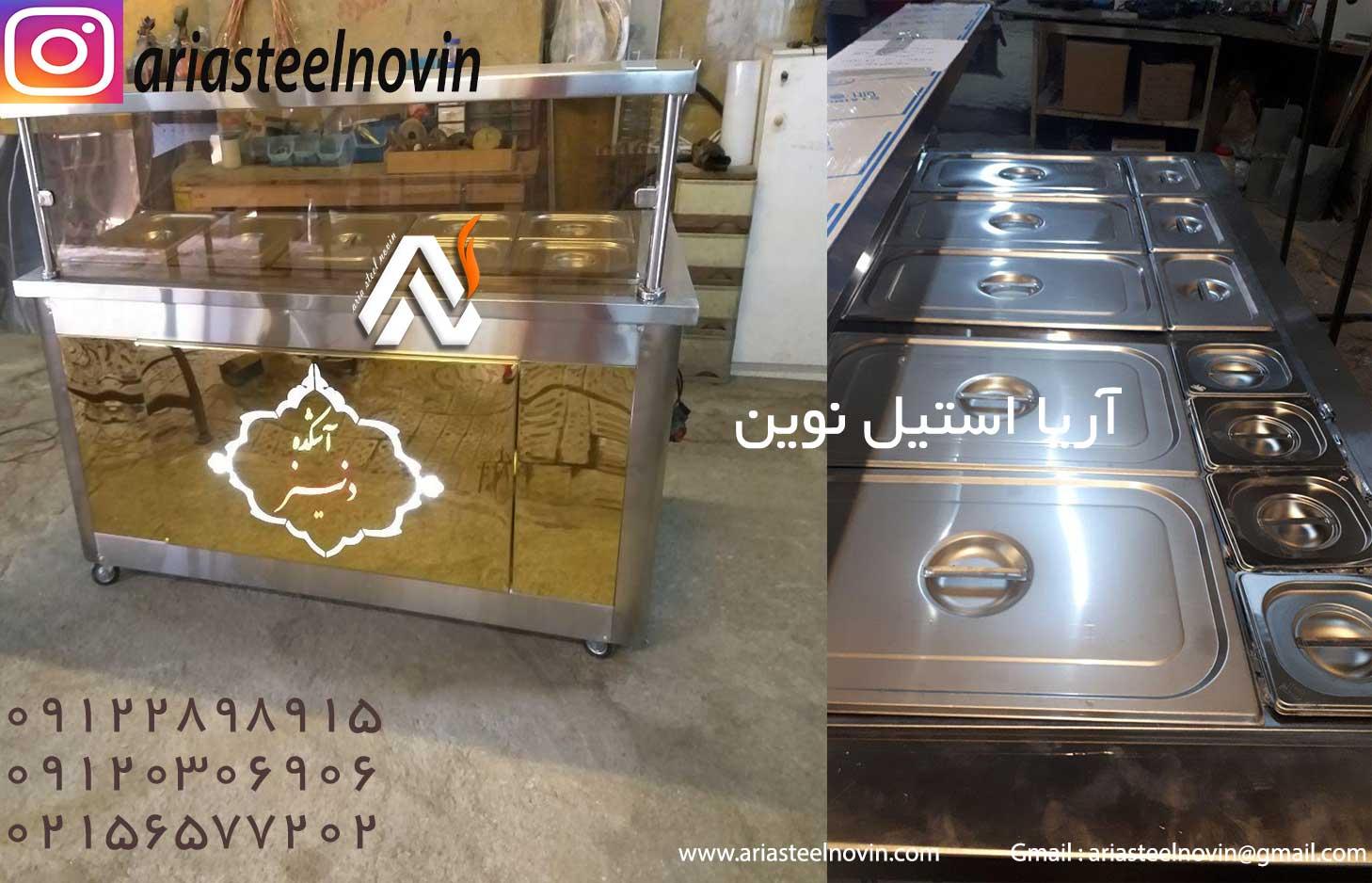 تاپینگ-گرم-در-تجهیزات-آشپزخانه-صنعتی