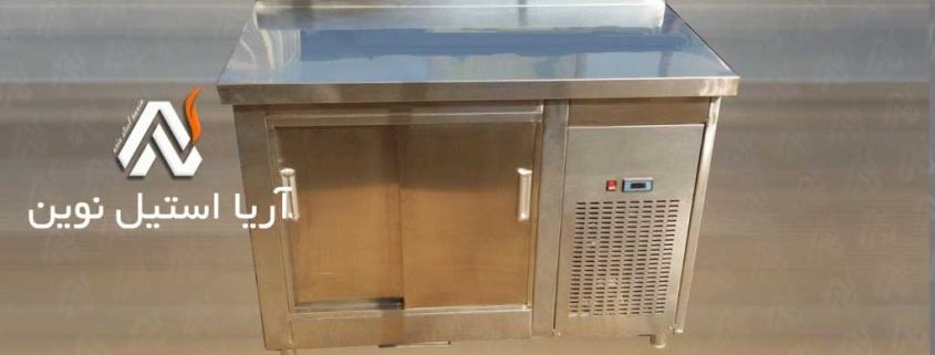 یخچال میزکاری _ تجهیزات آشپزخانه صنعتی