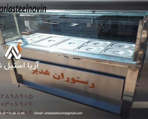 تاپینگ گرم _ تجهیزات فست فود_تجهیزات آشپزخانه صنعتی