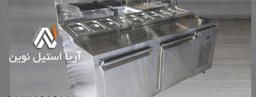 تاپینگ زیر یخچال_تجهیزات آشپزخانه صنعتی