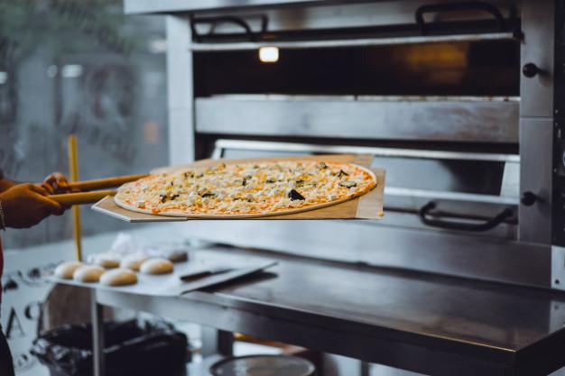 فر پیتزا صندوقی دو طبقه
