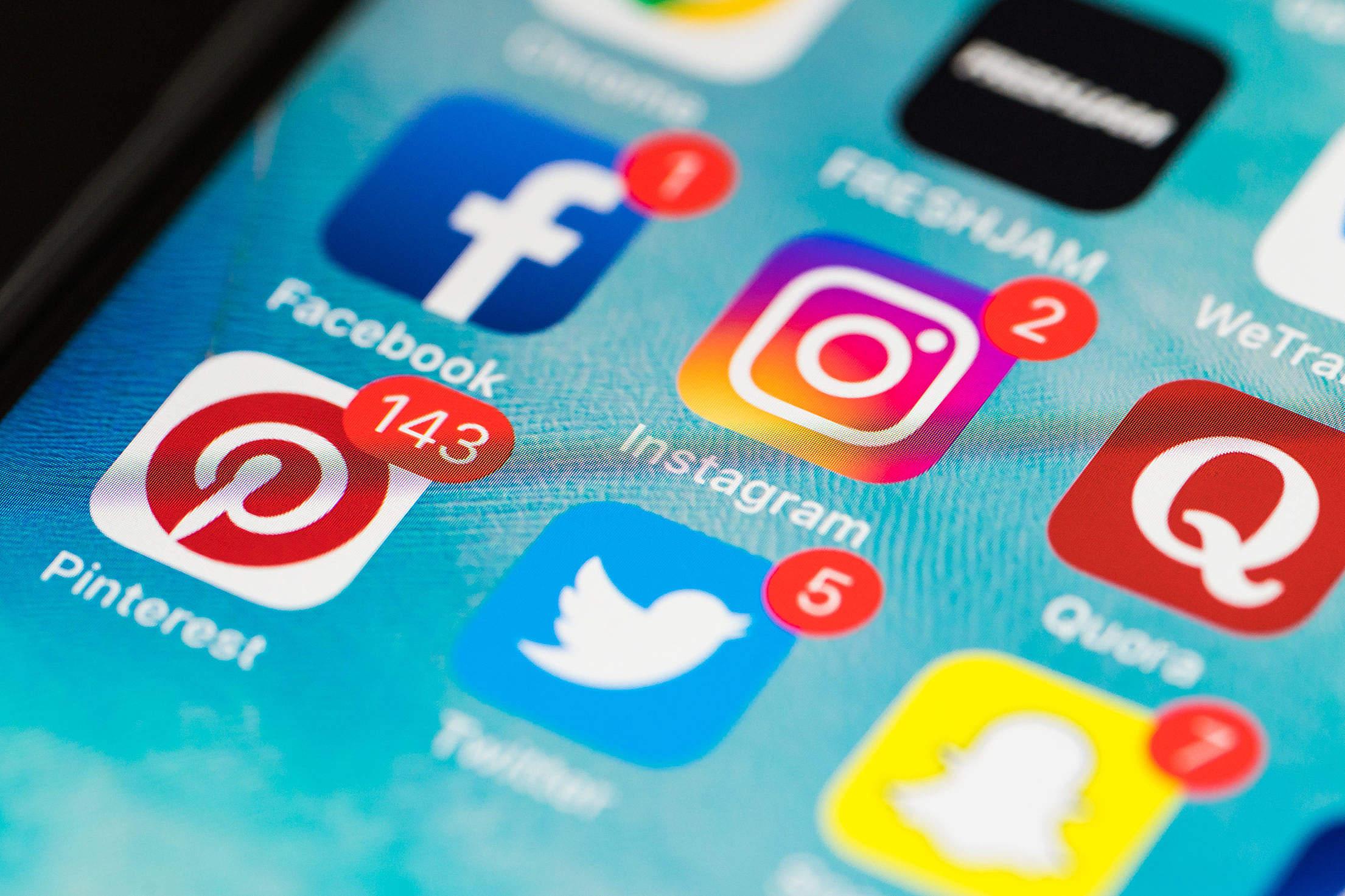 سوشیال مدیا و شبکه های اجتماعی