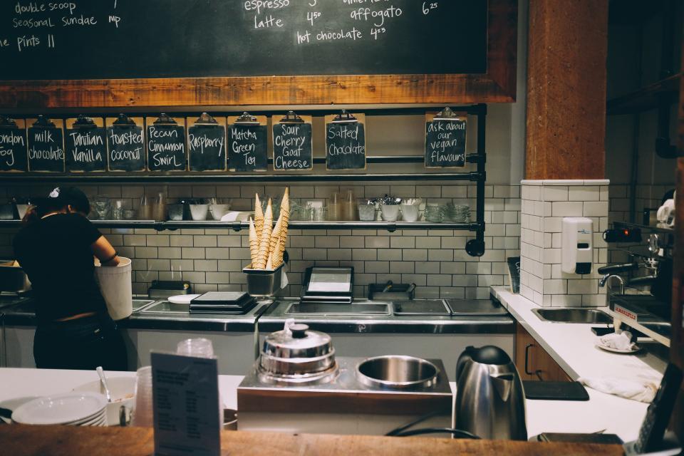طراحی رستوران و فست فود