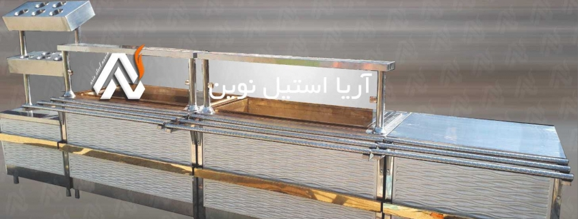 تجهیزات سلف سرویس   تجهیزات آشپزخانه صنعتی   تجهیزات فست فود