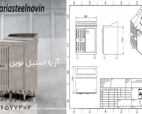 تاپینگ-پیتزا-پنج-لگن | تجهیزات آشپزخانه صنعتی | تجهیزات فست فود