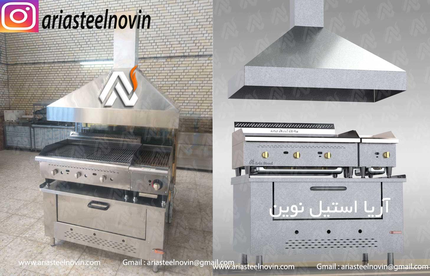 فر-صندوقی-پیتزا | تجهیزات آشپزخانه صنعتی | تجهیزات فست فود