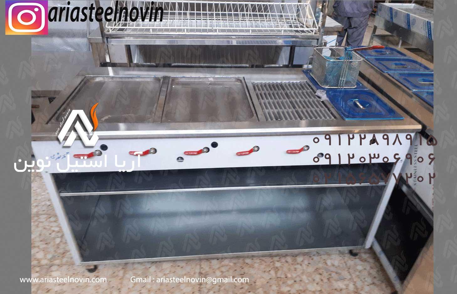 فر-ترکیبی | تجهیزات آشپزخانه صنعتی | تجهیزات فست فود