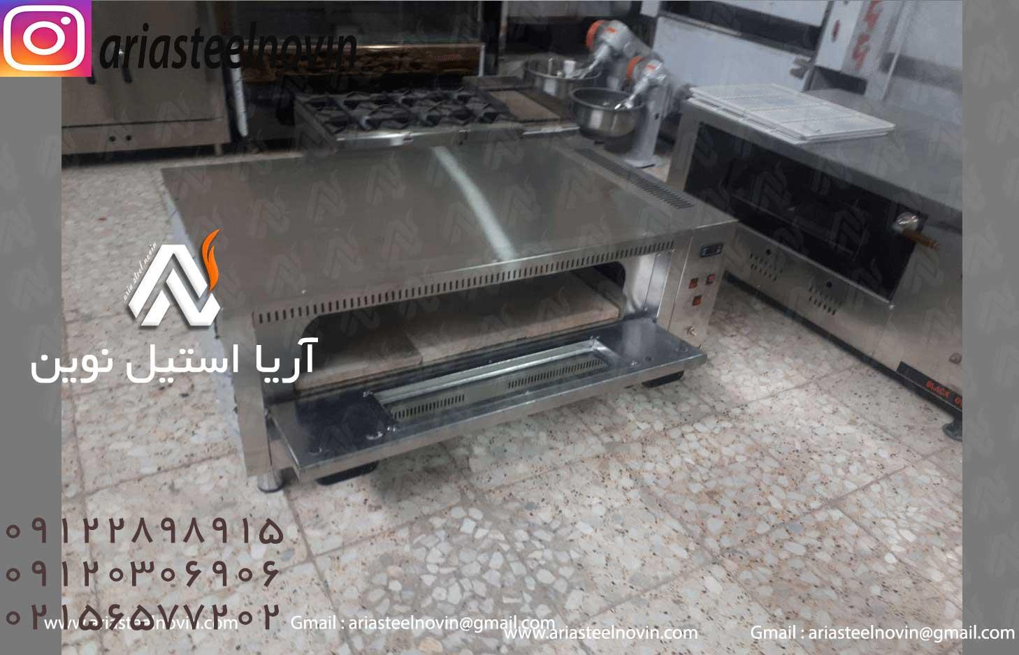 فر-پیتزا-ایتالیایی تجهیزات آشپزخانه صنعتی | تجهیزات فست فود