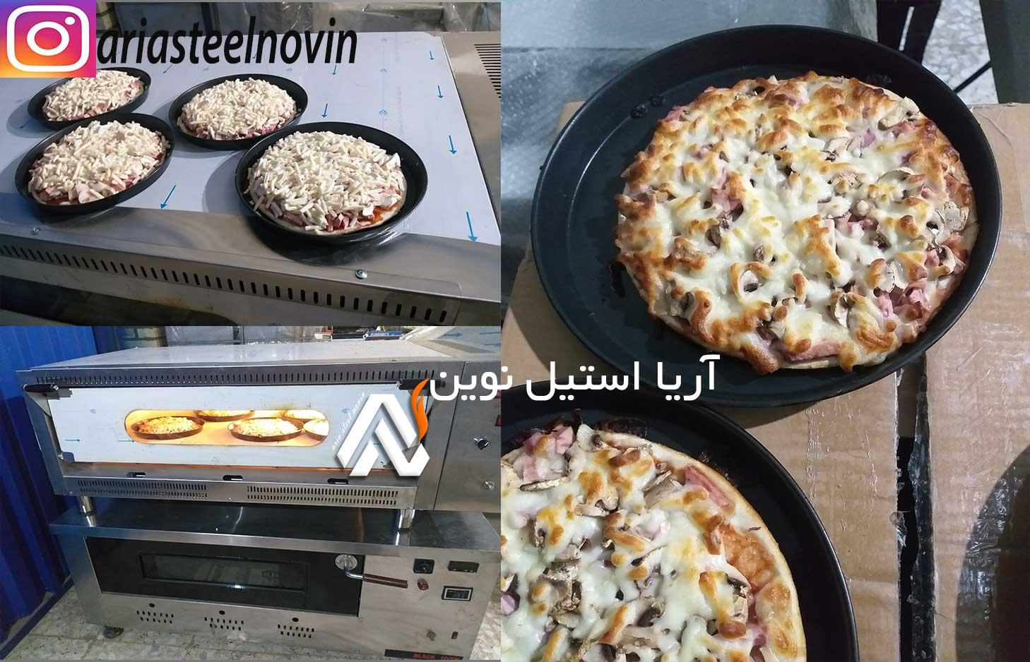 پخت-پیتزا-ایتالیایی