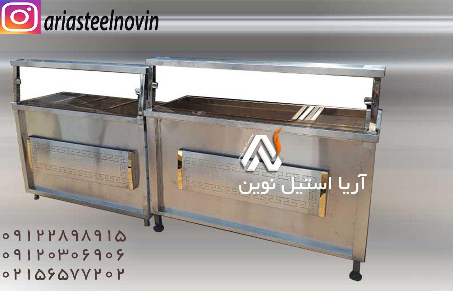 قیمت کانتر گرم | تجهیزات آشپزخانه صنعتی | تجهیزات فست فود