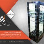 قیمت گرمخانه ویترینی پیراشکی | تجهیزات اشپزخانه صنعتی | تجهیزات فست فود