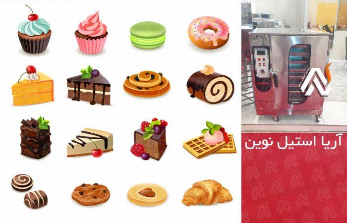 فر-شیرینی-پزی-گازی | تجهیزات قنادی | تجهیزات آشپزخانه صنعتی
