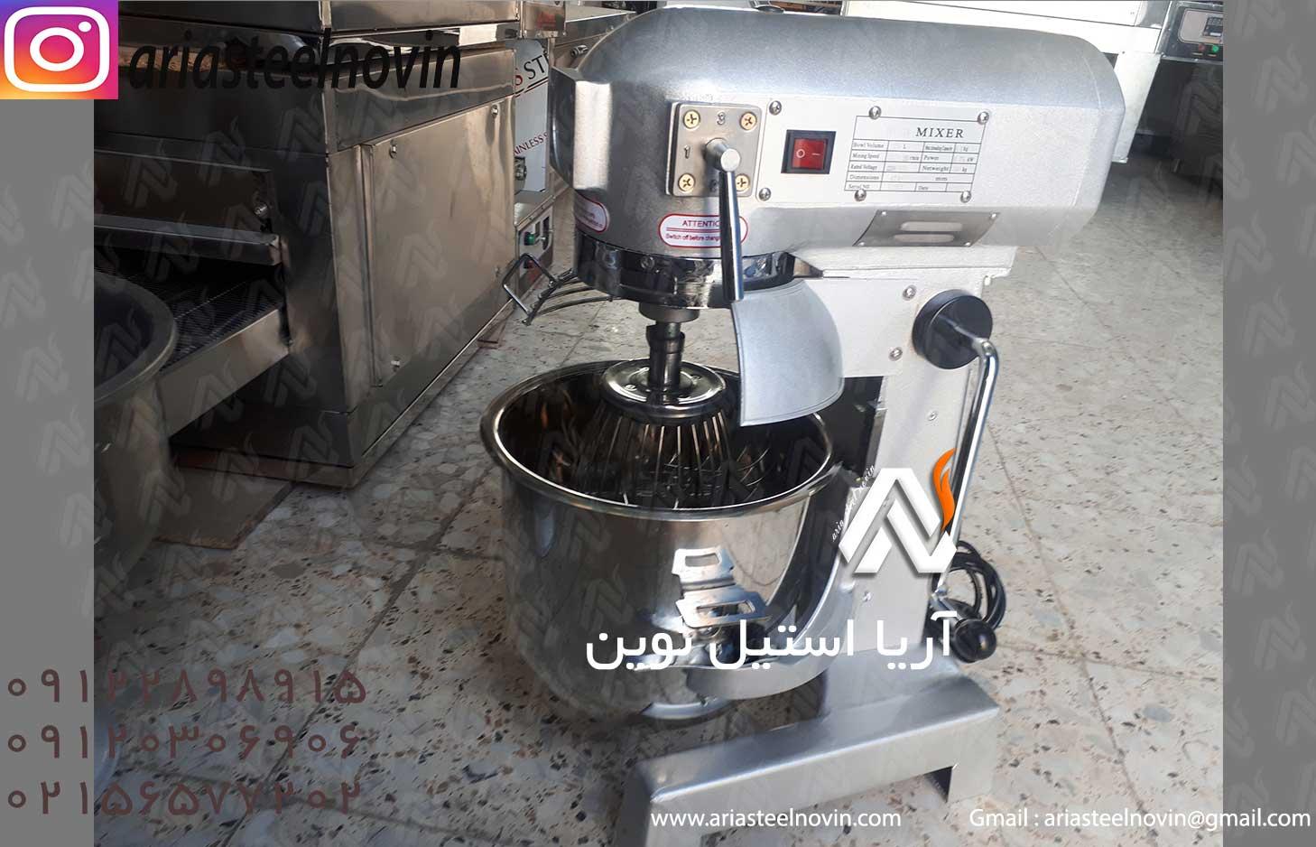 قیمت-دستگاه-میکسر-قنادی-15-لیتری