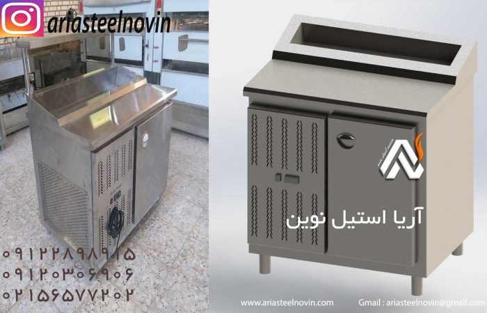 قیمت-یخچال-تاپینگ   تجهیزات آشپزخانه صنعتی   تجهیزات فست فود