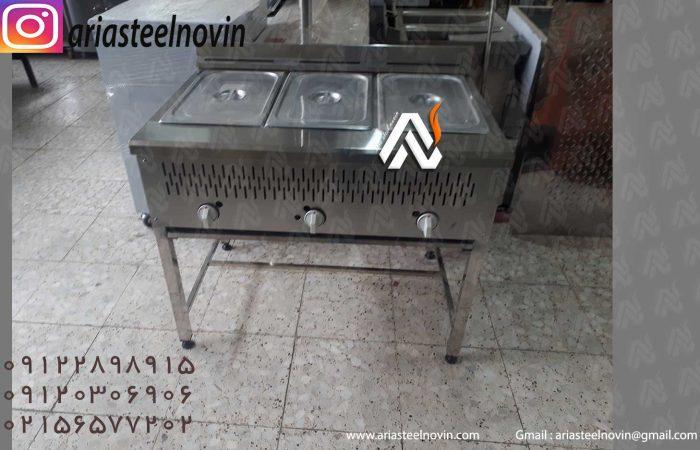سرخکن-سه-لگنه | تجهیزات آشپزخانه صنعتی | تجهیزات فست فود