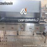 کباب-پز-گازی-دو-کاره | تجهیزات آشپزخانه صنعتی | تجهیزات فست فود