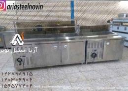 تاپینگ-پیتزا-استیل-یخچالدار