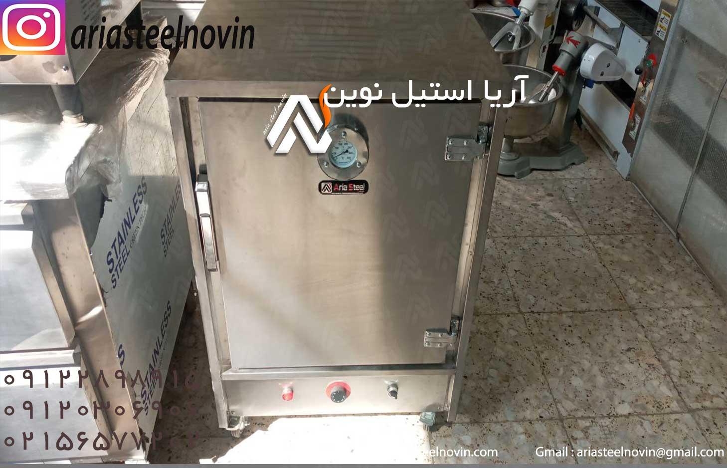 گرمکن-غذا-گازی-استیل