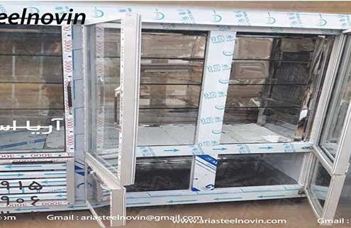 یخچال کبابی ویترینی | تجهیزات آشپزخانه صنعتی