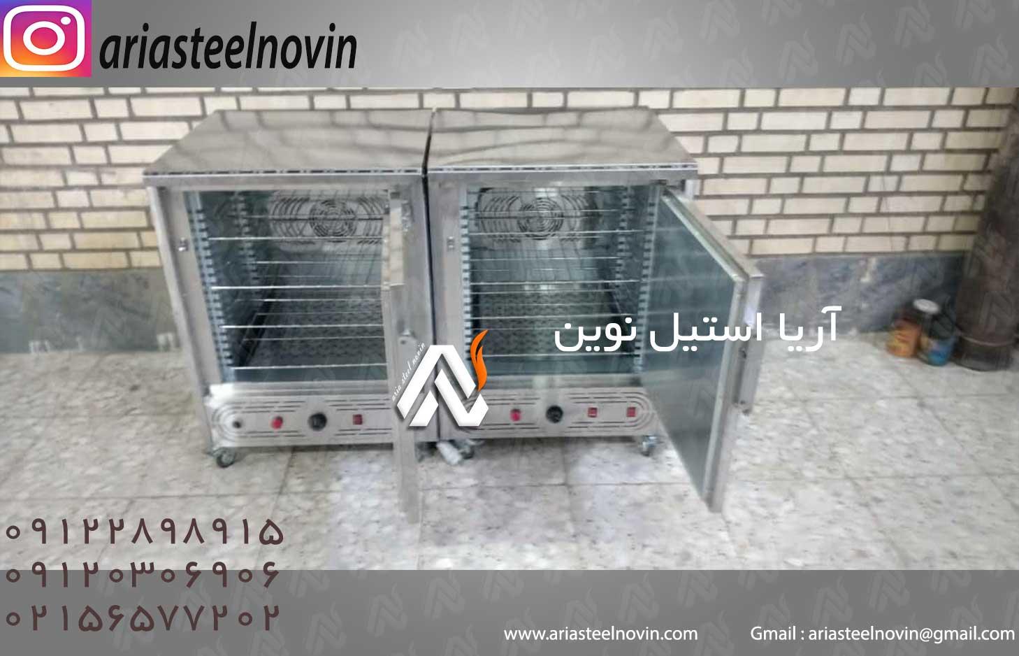 گرمخانه غذا 30 و 20 نفره برقی