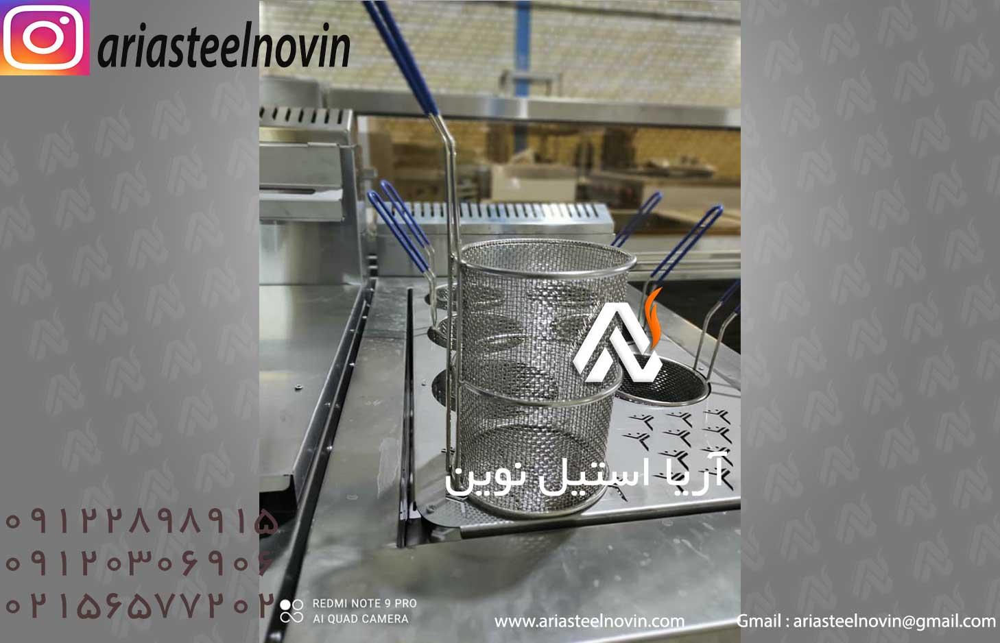 دستگاه پاستا پز صنعتی