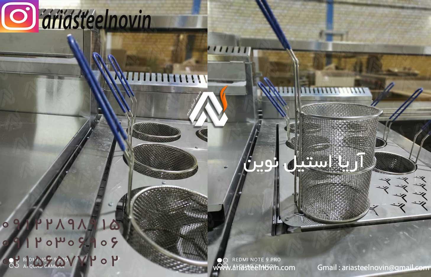 عملکرد دستگاه پخت پاستا