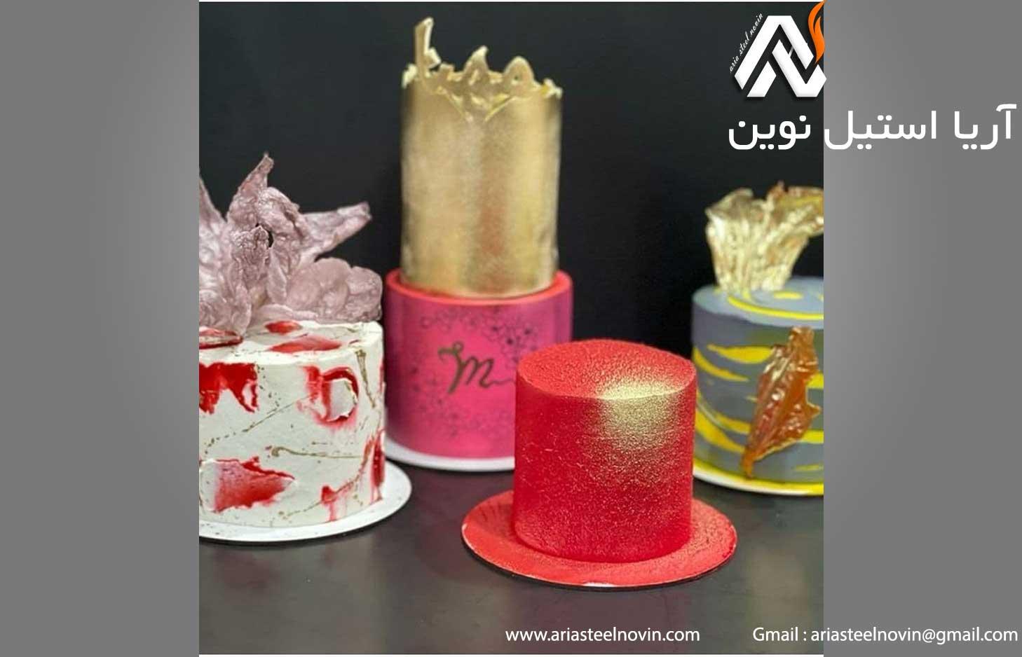 تزیین کیک تولد دونفره