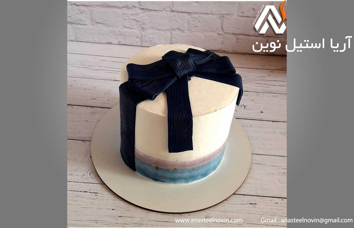 کیک تولد عاشقانه لاکچری